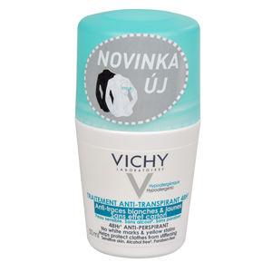 Vichy 48-hodinový guľôčkový antiperspirant proti bielym a žltým škvrnám 50 ml