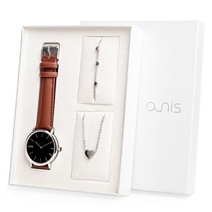 A-NIS Set hodinek, náhrdelníku a náramku AS100-06