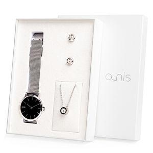 A-NIS Set hodinek, náhrdelníku a náušnic AS100-04