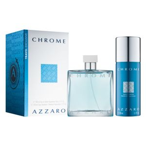 Azzaro Chrome - EDT 100 ml + deodorant v spreji 150 ml