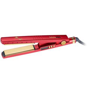 BaByliss PRO Žehlička na vlasy BaByliss Pro Titanium-Ionic červená