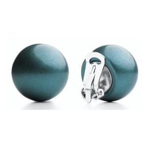 #ballsmania Originálne metalické náušnice O154M-18-4718 Blu Oceano Metal