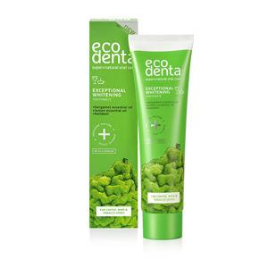 Ecodenta Bieliace zubná pasta s bergamotom, citrónovým olejom a Kalidentem ( Whitening Toothpaste) 100 ml