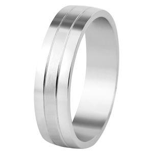 Beneto Snubný prsteň z ocele SPP09