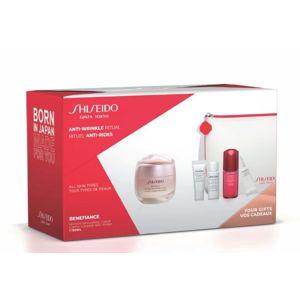 Shiseido Darčeková sada s pleťovým krémom proti vráskam Benefiance Wrinkle Smooth ing Cream