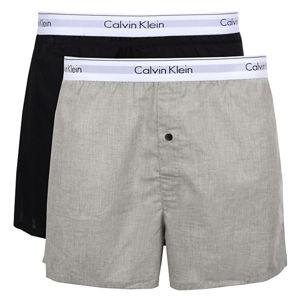 Calvin Klein Sada treniek Modern Cotton Stretch Slim Boxer 2P NB1396A-BHY