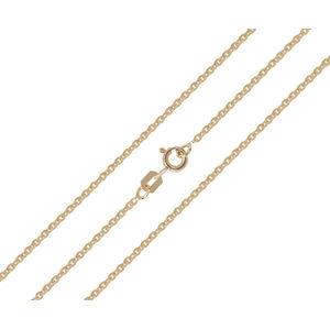 Brilio Dámsky zlatý retiazka 42 cm 271 115 00368