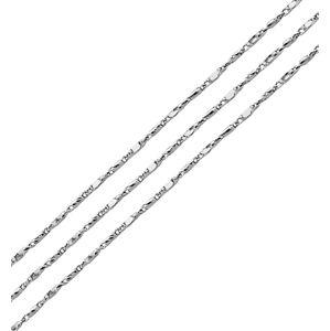 Brilio Silver Ozdobný strieborná retiazka 45 cm 471 086 00122 04