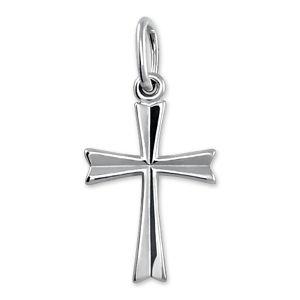 Brilio Silver Strieborný prívesok krížik 441 001 00410 04