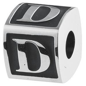 Brosway Oceľový prívesok Alphabet D TJ Man BTJN47
