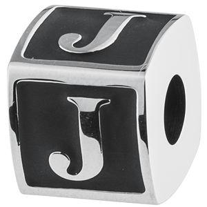Brosway Oceľový prívesok Alphabet J TJ Man BTJN53