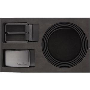 Calvin Klein Darčekový set opasku Plaque / Square Buck le Saf K50K506117BAX