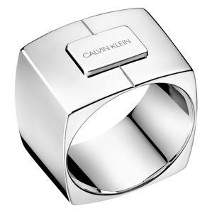 Calvin Klein Luxusné oceľový prsteň Assertive KJAHMR0001