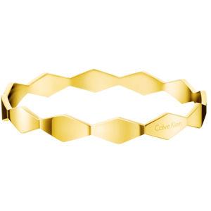 Calvin Klein Pevný zlatý náramok Snake KJ5DJD1001