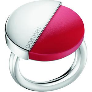 Calvin Klein Štýlový prsteň s červeným kameňom Spicy KJ8RRR0401