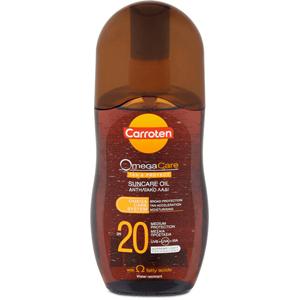 Carroten Olej na opaľovanie a ochranu pokožky SPF 20 Omega Care ( Suncare Oil) 125 ml