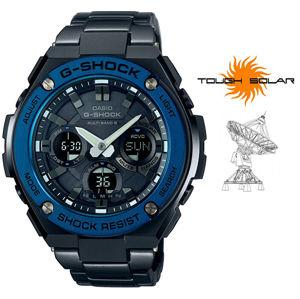 Casio G-Shock GST-W110BD-1A2ER Solar Rádiově řízené