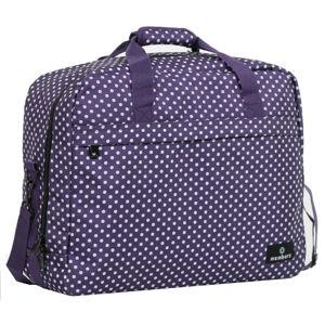 Member's Cestovná taška 40L SB-0036 fialová / biela