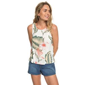 Roxy Dámska blúzka Vast Sky Marshmallow Tropical Love ERJKT03518-WBT7