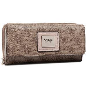 Guess Dámska peňaženka SWSG76 68620 BROWN MULTI