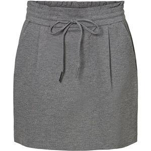 Vero Moda Dámska sukňa VMEVA 10225936 Medium Grey Melange