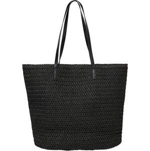 Vero Moda Dámska taška VMSISSO BEACH BAG Black