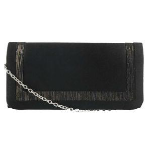 Barolo Dámske listová kabelka 1640 čierne