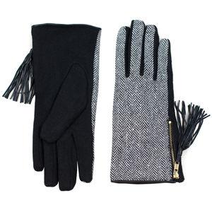 Art of Polo Dámske rukavice rk18356.1 Black, White
