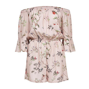 ONLY Dámsky overal Butterfly Off Shoulder Play suit WVN 15163125- Rose Smoke