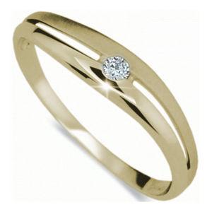 Danfil Krásny prsteň s diamantom DF1661z
