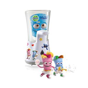 Dettol Bezdotykový dávkovač mydla pre deti Kids Dobrodruh (Automatic Soap Dispenser) 250 ml