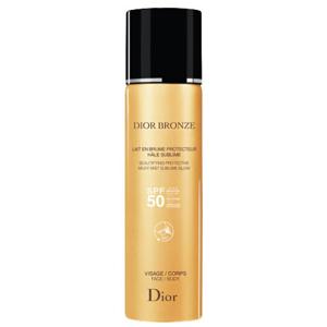 Dior Skrášľujúce ochranná hmla na opaľovanie SPF 50 ( Bronze Milky Mist) 125 ml