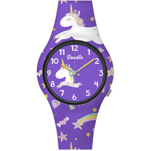 Doodle Purple Unicorn DO32006