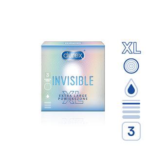 Durex Kondomy Invisible XL