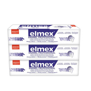 Elmex Zubná pasta Dental Enamel Professional 3 x 75 ml