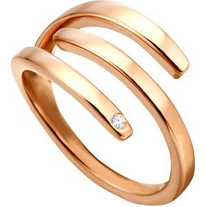 Esprit Štýlový bronzový prsteň Iva ESRG001616