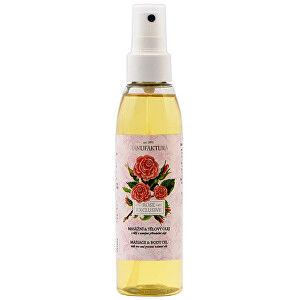 MANUFAKTURA Exkluzívny masážny & telový olej s ružou 155 ml