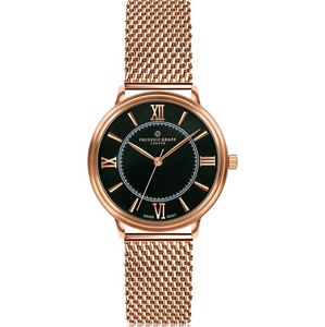 Frederic Graff Nanda Devi Rose Gold Mesh Watch FCA-3918