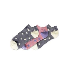 Funky Steps 3 PACK - dámske ponožky FSB103