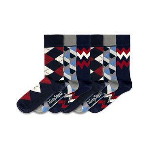 Funky Steps 6 PACK - pánske ponožky FSB146
