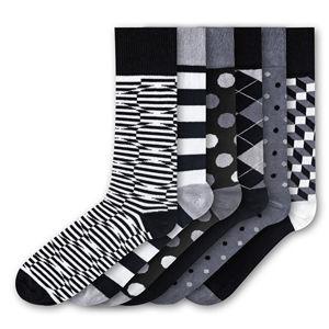 Funky Steps 6 PACK - pánske ponožky FSB271