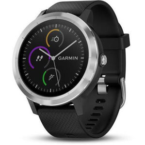 Garmin VívoActive3 Optic Silver/Black band