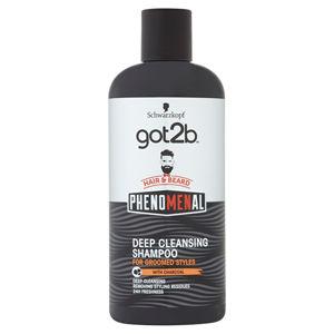 got2b Hĺbkovo čistiaci šampón na vlasy a fúzy pHenomenal (Deep Cleansing Shampoo)