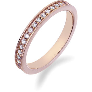 Hot Diamonds Prsteň Emozioni Infinito Rose Gold ER008