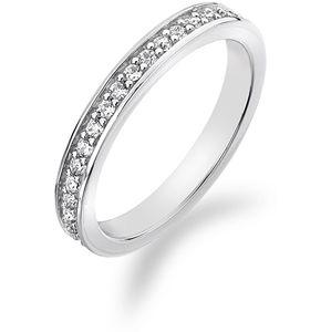 Hot Diamonds Strieborný prsteň s kryštálmi Emozioni Infinito ER007