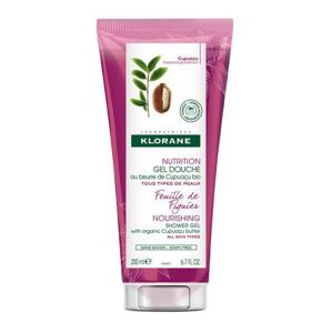 Klorane Intenzívne vyživujúci sprchový gél s listami figovníka (Nourishing Shower Gel)