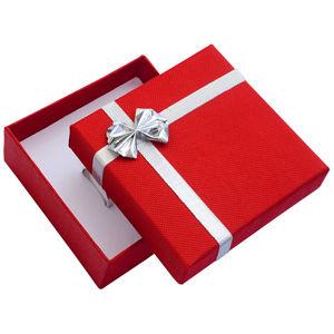 JK Box Červená krabička s mašľou na strednej sadu ET-5 / A7 / Ag