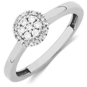 JVD Strieborný prsteň s kryštálmi SVLR0238XH2BI