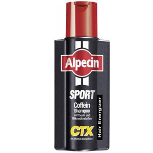 Alpecin Kofeínový šampón proti vypadávaniu vlasov Šport CTX (Energizer Kofein Shampoo) 250 ml