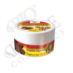 Bione Cosmetics Kozmetická toaletná vazelína Arganový olej + Karité 155 ml
